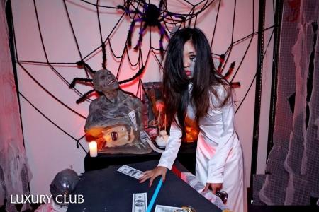 Sự Kiện Halloween tại Luxury Bar